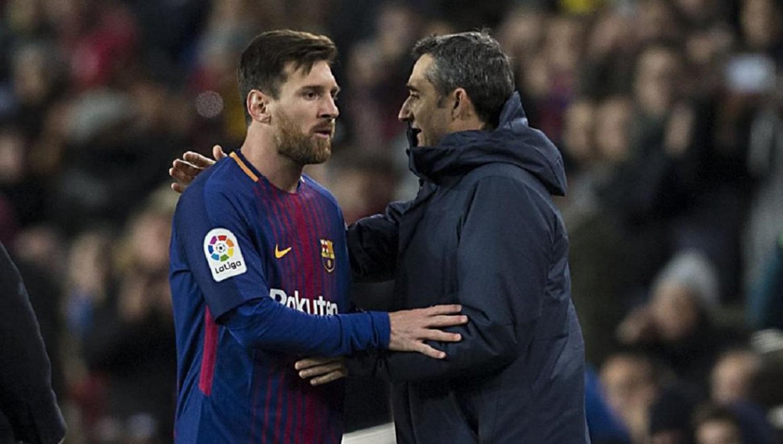 Reportan pelea entre Messi y Valverde