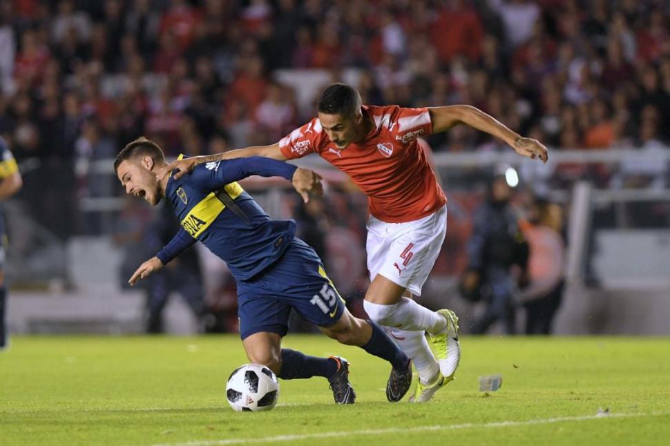 El colombiano Cardona no jugará el domingo ante Independiente — Boca