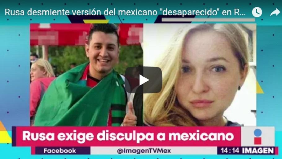 Mensaje de la joven rusa a mexicano infiel y a su esposa