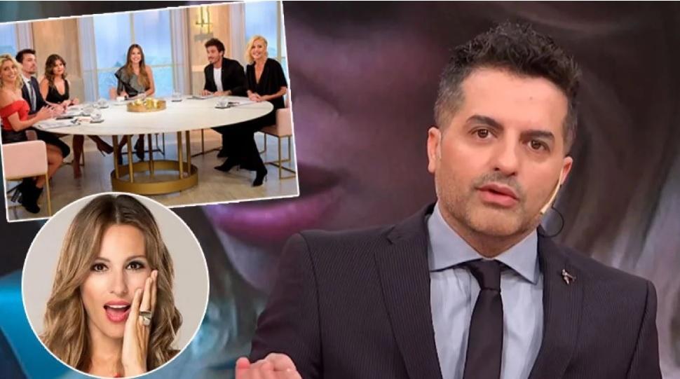 Telefe levantará el programa de Pampita — Escándalo