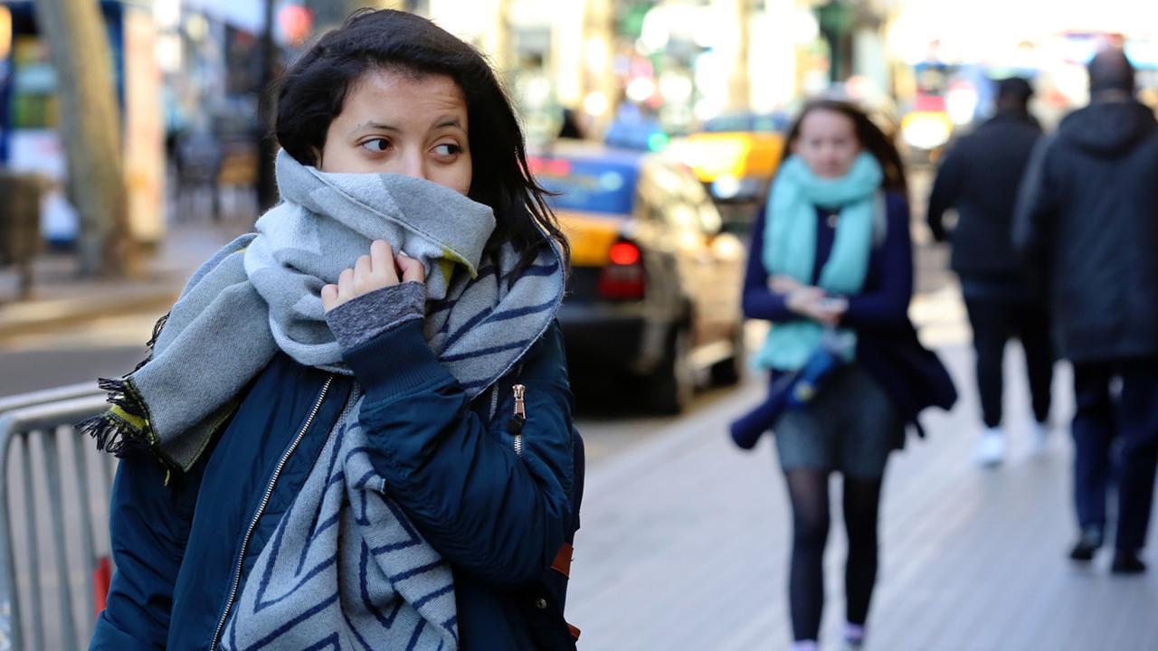 La sensación térmica llegó a 7.5 grados bajo cero — Martes helado