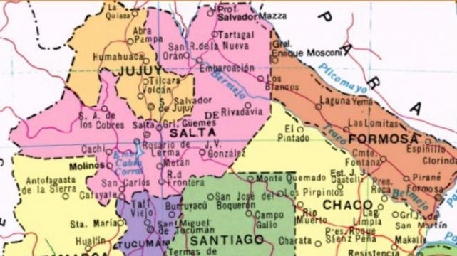 Resultado de imagen para SALTA MAPA