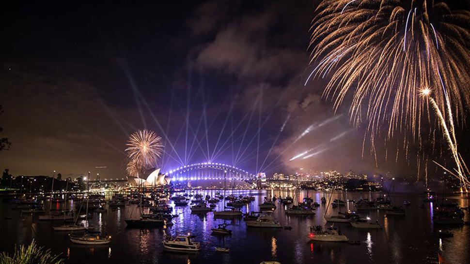 Video: mirá cómo recibieron el año nuevo a Australia - LA GACETA Salta