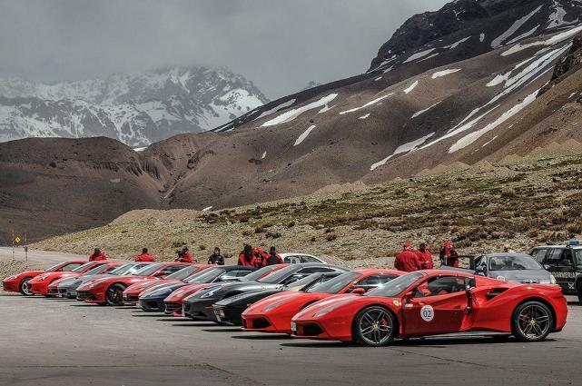 Imperdible Mas De 50 Autos Ferrari Recorreran Los Paisajes De Salta