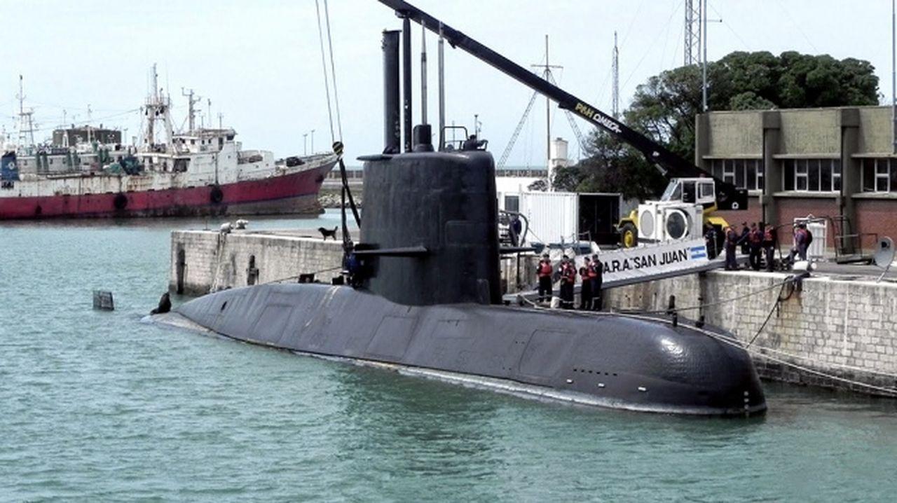 Investigan nuevos posibles contactos del submarino ARA San Juan