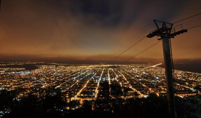 Ciudad Bajo Las Estrellas La Noche De Las Terrazas En