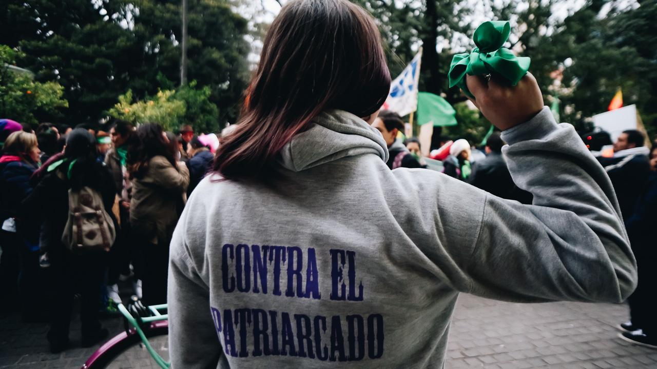 """""""Ni una muerte más por aborto clandestino"""", fue el grito de la marcha de #NiUnaMenos"""