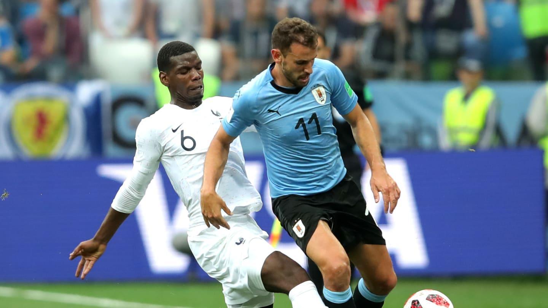 Resultado de imagen para francia vence a uruguay