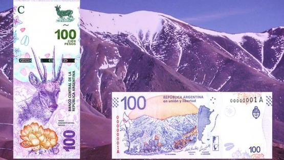 Mirá cómo es el nuevo billete de $100 que sale a la calle