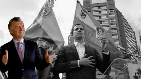 El gobierno de Argentina reconoce a Juan Guaidó como presidente de Venezuela