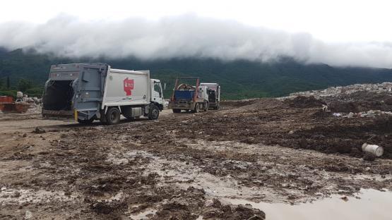 Vertedero San Javier: la inspección verificó las denuncias hechas por contaminación