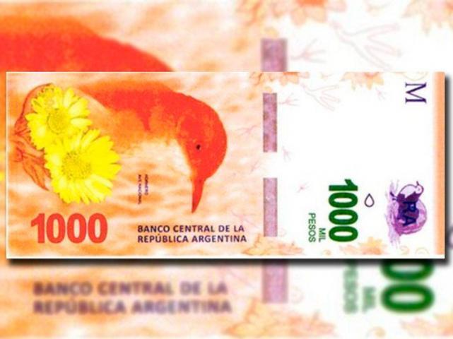 Resultado de imagen para Alertan por billetes de $ 1000 falsos: cómo detectarlos.