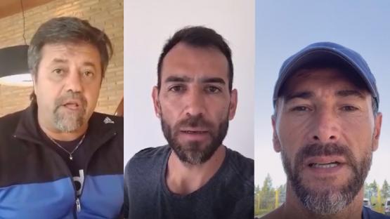 Video: reconocidos futbolistas se solidarizaron con un club salteño que está a punto de cerrar