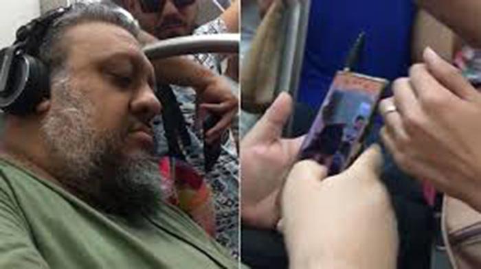 Escracharon a pervertido que fotografiaba la cola de las mujeres