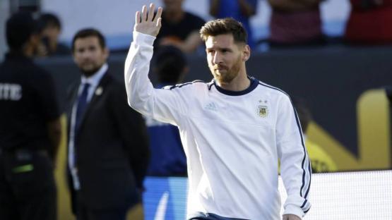 Messi regresó a la Selección después de 260 días