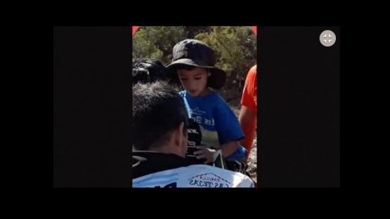 Benjamín, el nene perdido en San Juan, asegura haber estado con