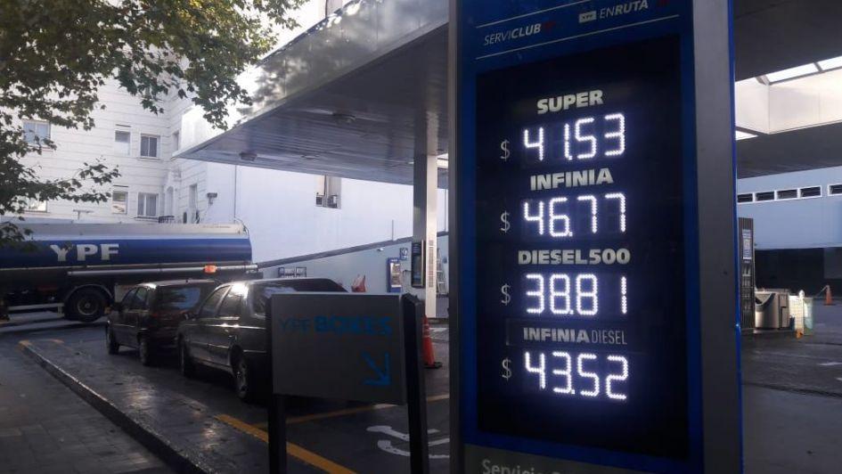 Actualizaron precios en las naftas todas las petroleras