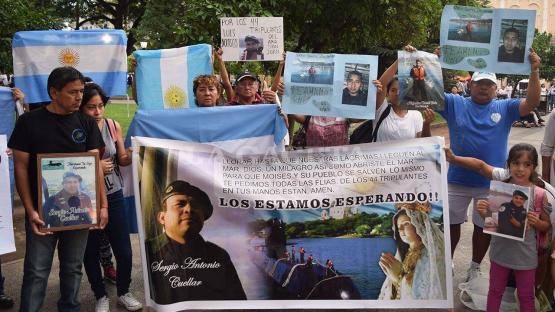 ARA San Juan: los familiares salteños sostienen que el Gobierno se burla de ellos