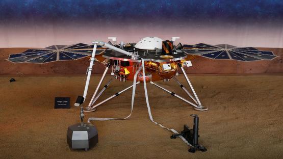 La NASA registró un temblor en Marte