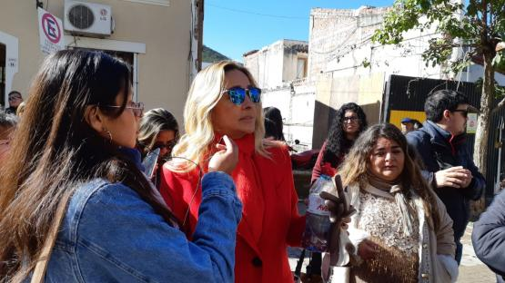 Patricia Argañaraz intentó ingresar a la ADP y el conflicto continúa