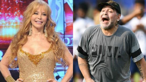 """""""La pase brutal"""", así recordó Graciela Alfano su encuentro sexual con Maradona"""