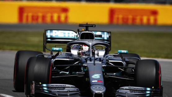 Fórmula 1: victoria caliente