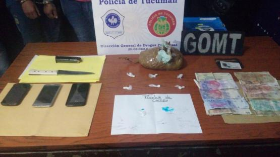 Cae en Salta una banda de tucumanos que distribuía cocaína en toda la provincia