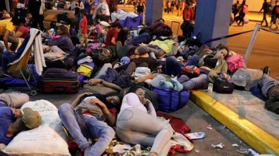 Unas 500 personas murieron cuando migraban en América