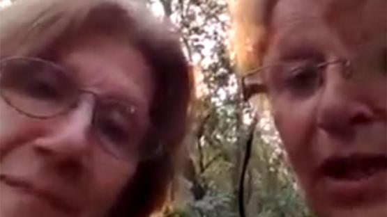 Aterradas pero con buen humor: el mensaje de SOS que enviaron las hermanas perdidas en Tucumán