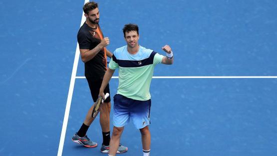 US Open: Zeballos, en pareja con Granollers, en finalista en dobles