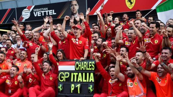 Fórmula 1: se recibió de ídolo