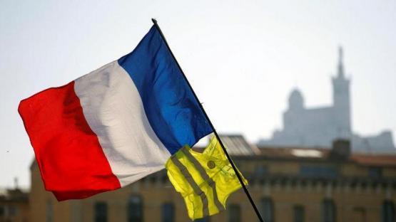 Los chalecos amarillos y la Policía se enfrentan en Nantes