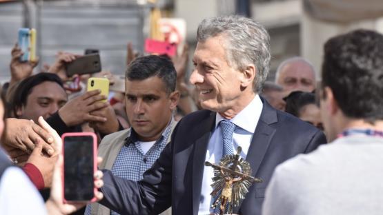 El paso de Macri por Salta evidenció grietas políticas y religiosas
