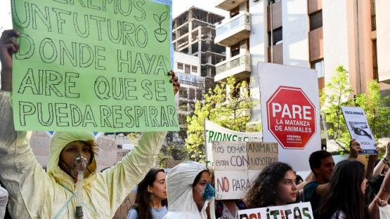 Marcha global por el clima: concentraciones en todo el mundo
