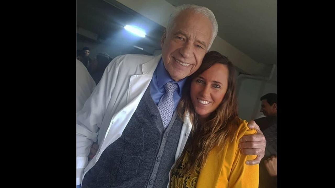 Se casa Alberto Cormillot con su novia casi 50 años más joven