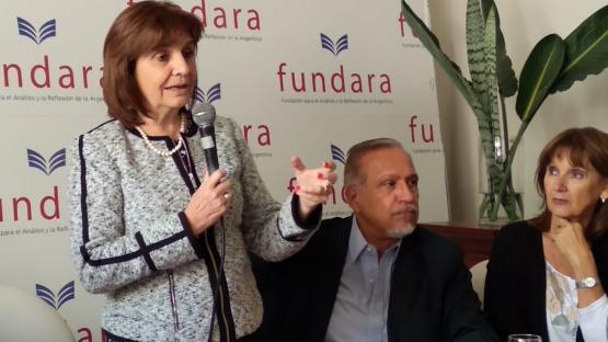 """En Salta, Bullrich aseguró que la frontera norte está """"más controlada"""""""