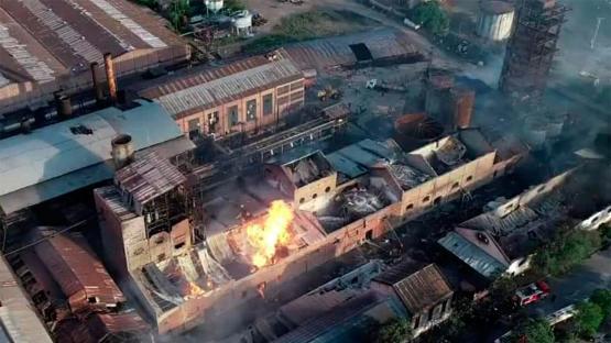 Confirman que la explosión dejó al menos cinco muertos en el ingenio La Esperanza