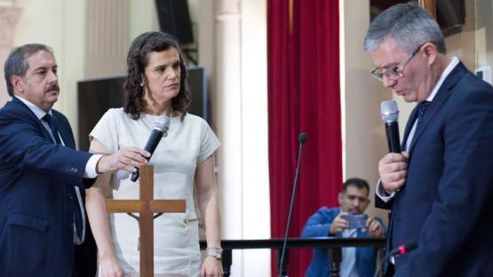 """Fiore dijo que Sáenz debería """"derogar el protocolo del aborto"""" en Salta"""
