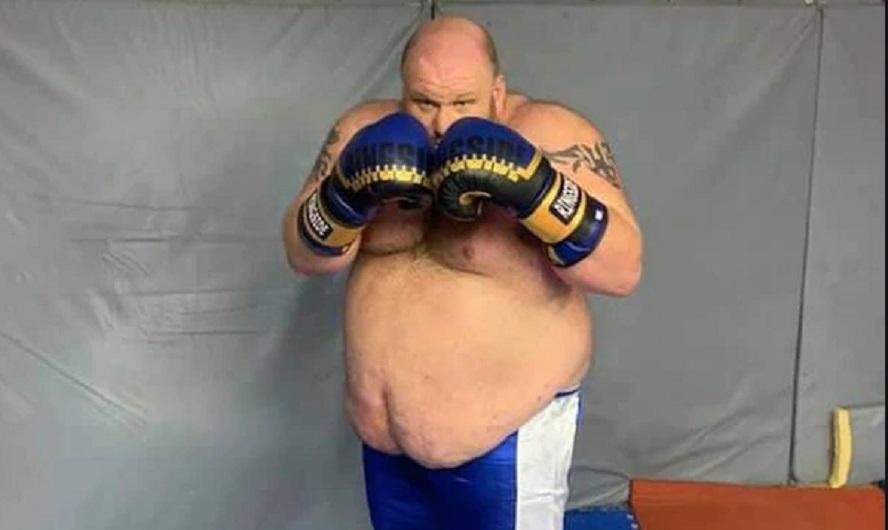video boxeador 180 kilos padecio brutal nocaut 131918 125057