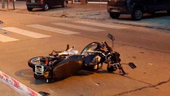 Un hombre perdió el control de su moto y falleció