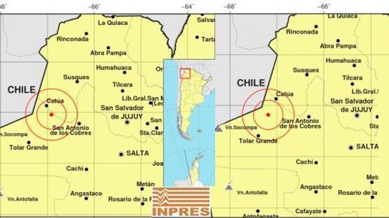 Durante la madrugada se registraron tres temblores en la provincia