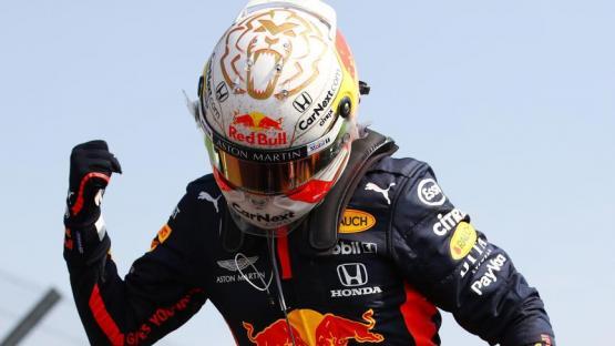 Fórmula 1: el festejo fue de Verstappen