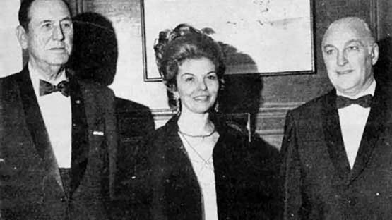 Perón, Isabel y López Rega transfigurados