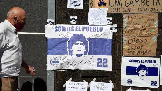 Qué dice el resultado preliminar de la autopsia a Maradona